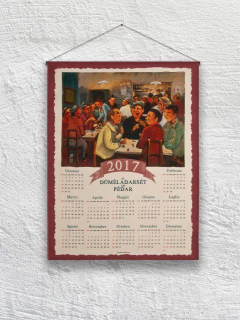 madeinviadana - Pédar - Asciughino Calendario