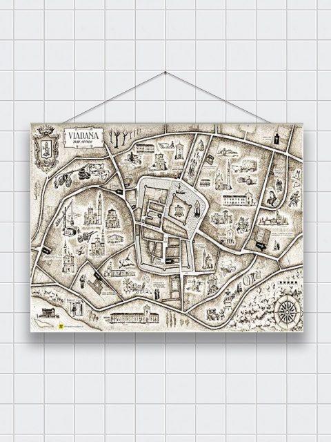 madeinviadana - Mappa Antica - Asciughino