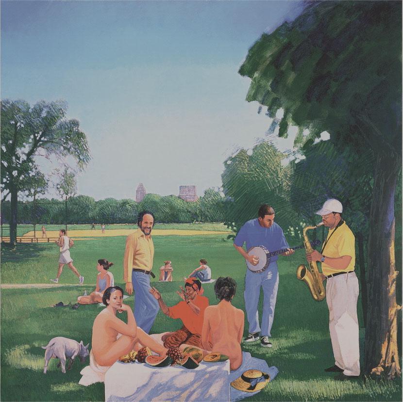 Studio Badini Createam: le dejeuner sur l herbe - Herman Braun - Vega Le Dejeuner in Central Park