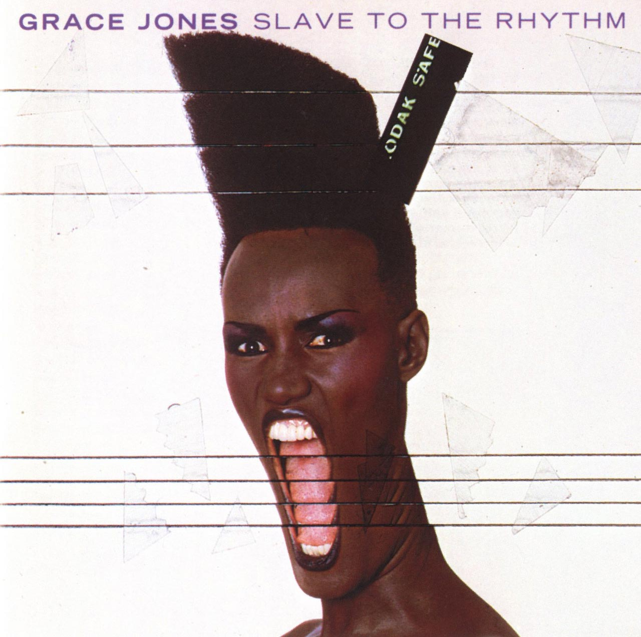 The graphic art of Greg Porto - Grace Jones - Slave To The Rhythm