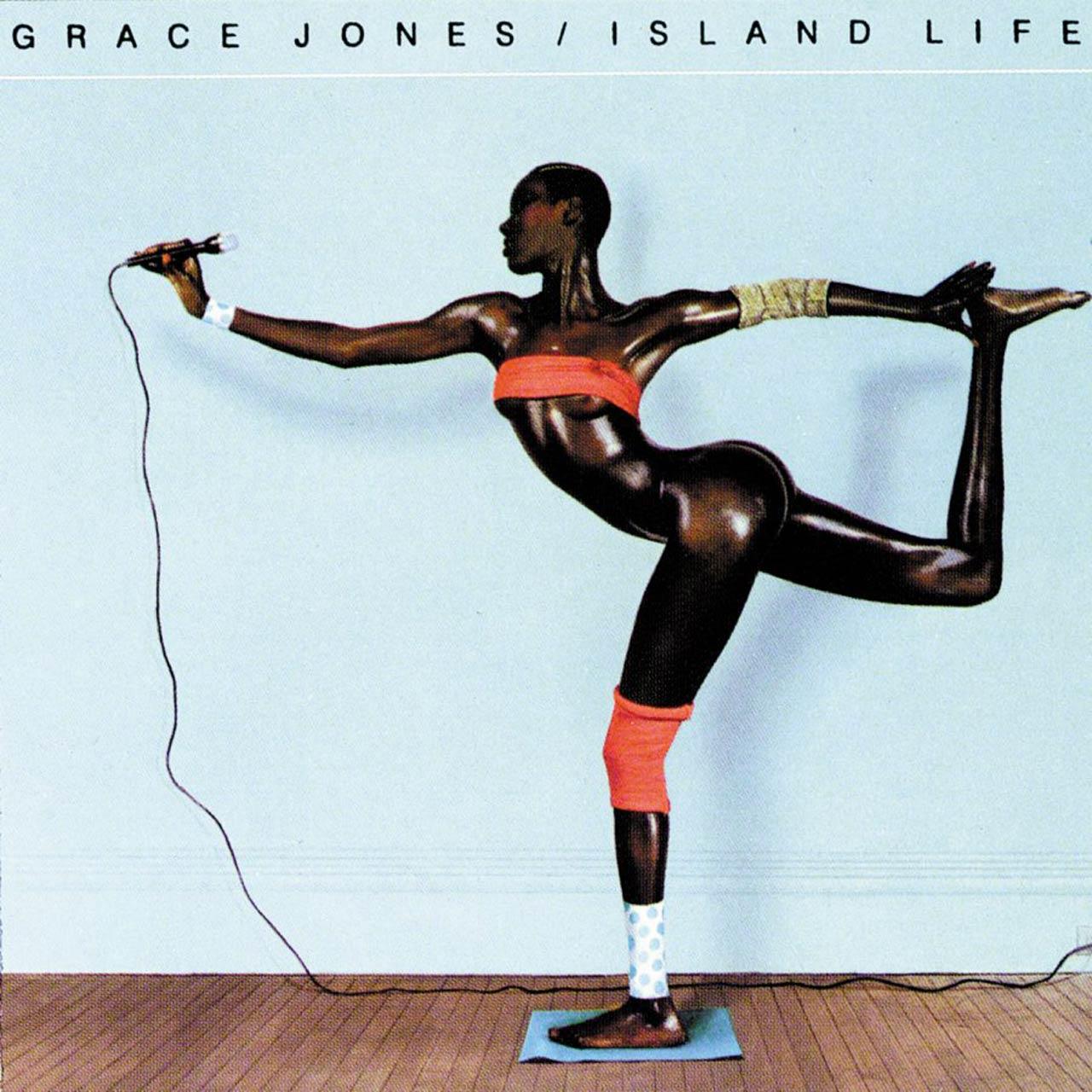 The graphic art of Greg Porto - Grace Jones - Island-life