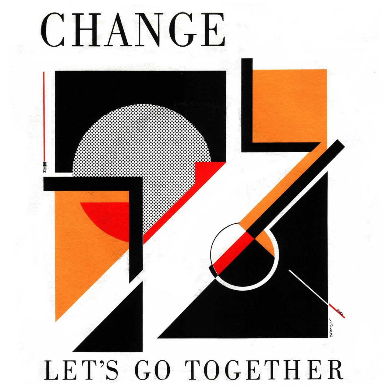 The graphic art of Greg Porto - Change lets go together
